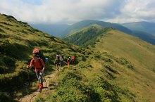 Traseul Curmatura Bratilei - Varful Rosu, Muntii Fagaras, Foto: Dinu Mititeanu