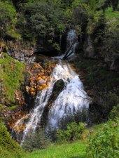 Orzanele vízesés, Fogarasi havasok., Fotó: Georgiana Negru