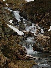 Orzanele vízesés, Fogarasi havasok., Fotó: Robert Mihai