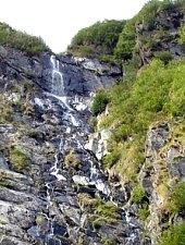 Cascada Racorele, Muntii Fagaras, Foto: Andrei Bazar