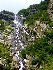Cascada Racorele, Muntii Fagaras, Foto: Nicolae Mercurean