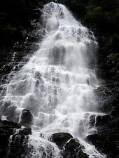 Cascada Zbuciumata, Muntii Fagaras, Foto: WR