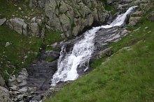 Cascadele de pe valea Rea, Muntii Fagaras, Foto: Florian Rădoi