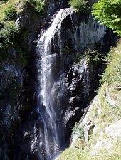 Cascadele de pe valea Rea, Muntii Fagaras, Foto: Hám Péter
