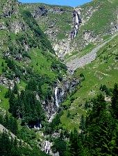 Cascadele de pe valea Rea, Muntii Fagaras, Foto: Andrei Pop