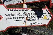 Traseul Stanele din Podul Giurgiului - Curmatura Moldoveanu, Muntii Fagaras, Foto: Salvamont Argeș