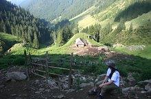 Traseul Stanele din Podul Giurgiului - Curmatura Moldoveanu, Muntii Fagaras, Foto: Nicu Riștea
