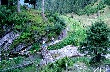 Traseul Stanele din Podul Giurgiului - Curmatura Moldoveanu, Muntii Fagaras, Foto: Marelena și Radu Pușcarciuc