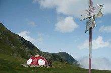 Vistea refuge hut, Photo: Salvamont Nucșoara