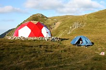 Vistea refuge hut, Photo: Marius Radu