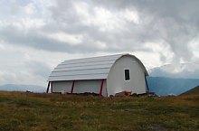Kis-ablak menedékkunyhó, Fogarasi havasok., Fotó: Salvamont Argeș