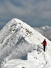 Nagy Vista csúcs, Fogarasi havasok., Fotó: Marius Radu