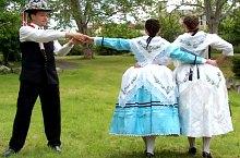 Photo: German folk ensemble Banater Rosmarein