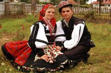 Batarci, traditional costumes, Photo: Primăria Batărci