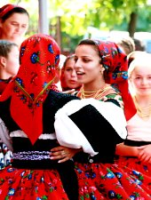 Batarci, traditional costumes, Photo: Dan Bâle