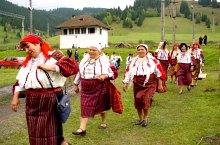Moldai csángók, Pusztina, Fotó: Ádám Gyula