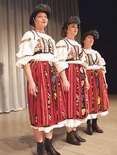 Drăguș-i népviselet a Brassói Poienita néptáncegyüttes tagjain