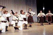 Fogaras-i népviselet a Brassói Poienita néptáncegyüttes tagjain