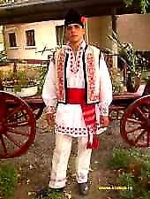 Munténiai népviselet