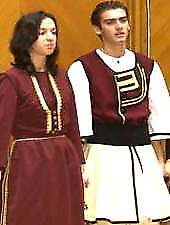 Traditional costumes in Dobrogea