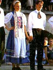 Traditional costumes in Târnave