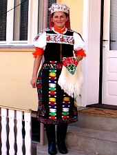 Körösfő - Kalotaszegi népviselet