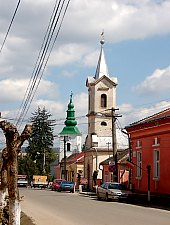 Catholic church, Jibou·, Photo: WR