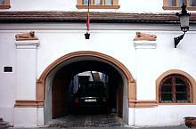 Schuller ház, az oroszlános bejárat, Fotó: Urian Adrian