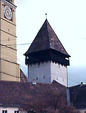 Tower of the Bells, Mediaș·, Photo: Urian Adrian
