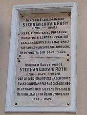 St. L.Roth emlékház, Fotó: WR