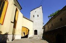 Mária tornya, Medgyes., Fotó: Iulius Carebia