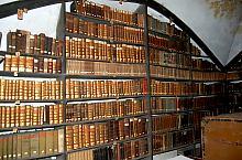 Kapucinus templom, a könyvtár