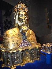 Római katolikus bazilika múzeuma, Nagyvárad., Fotó: WR