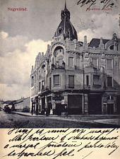 Nagyvárad, Moskovits palota 1900-ban
