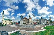 Piata Unirii, Oradea, Foto: Ovidiu Selegean