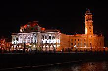 Városháza éjjel, Fotó: WR
