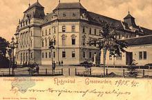 Nagyvárad, Igazságügyi palota 1900-ban