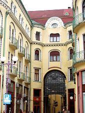 Fekete Sas Palota, Nagyvárad., Fotó: WR