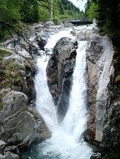 Cascada Lolaia, Muntii Retezat, Foto: Mihai Bursesc