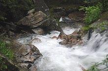 Pietrele or Maria Magdalena waterfall, Retezat mountains·, Photo: WR