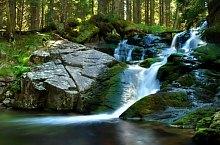 Pietrele or Maria Magdalena waterfall, Retezat mountains·, Photo: Dénes László