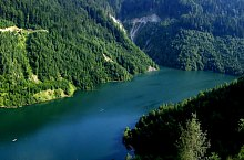 Gura Apelor tó, Retyezát hegység., Fotó: Andreea Varjoghe