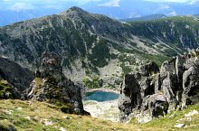 Lacul Stevia, Muntii Retezat, Foto: Sorin Nicolas