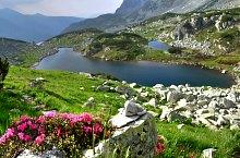 Viorica tó, Retyezát hegység., Fotó: Dénes László