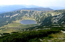 Zănoaga tó, Retyezát hegység., Fotó: Sisak Tamás