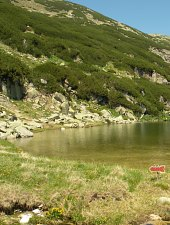 Zănoaga tó, Retyezát hegység., Fotó: Csupor Jenő