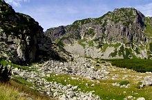 Pietrele turistaház - Peleága nyereg jelzett turistaút, Retyezát hegység, Fotó: Hám Péter