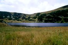Zănoaga tó és a nyereg Gura Zlata irányába, Fotó: Dan Harabagiu