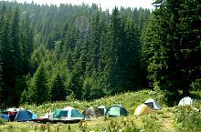 Camping at Pietrele, Photo: Mihai Bursesc