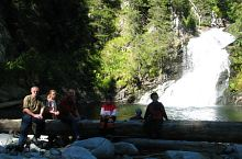 Waterfall in Lapusnic Valley, Photo: PNR